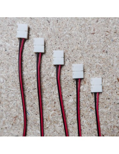 8mm 2pin LED strip power connector
