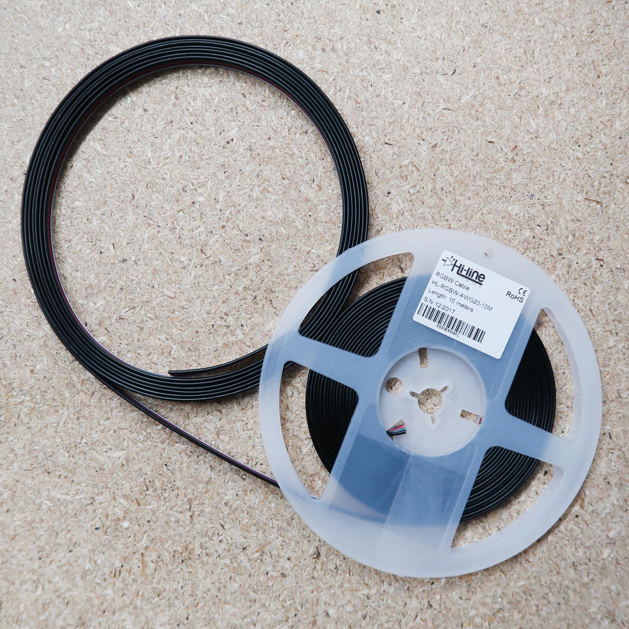 Kabelband für RGBW LED-Streifen 10m Rolle