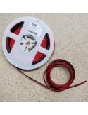 Flaches Kabelband für einfarbige LED-Streifen 20m Rolle 2-adrig