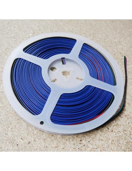 10m RGB Kabel 4-adrig für RGB LED Streifen