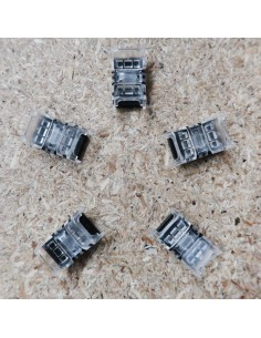 Strip to strip connector for 8mm IP00 LED tape single colour (pack of 5)