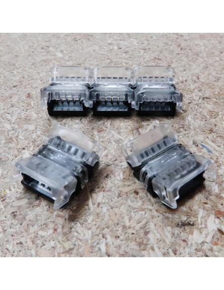 streifen zu streifen verbinder for 12mm IP00 LED streifen RGBW 5 pin (pack of 5)