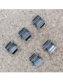 Strip to strip connector for 12mm IP00 LED tape RGBW 5 pin (pack of 5)