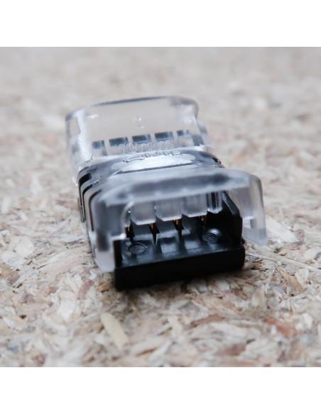 Lötfreie Verbindungsklemme für 4 Leiter RGB LED-Streifen 10mm IP00