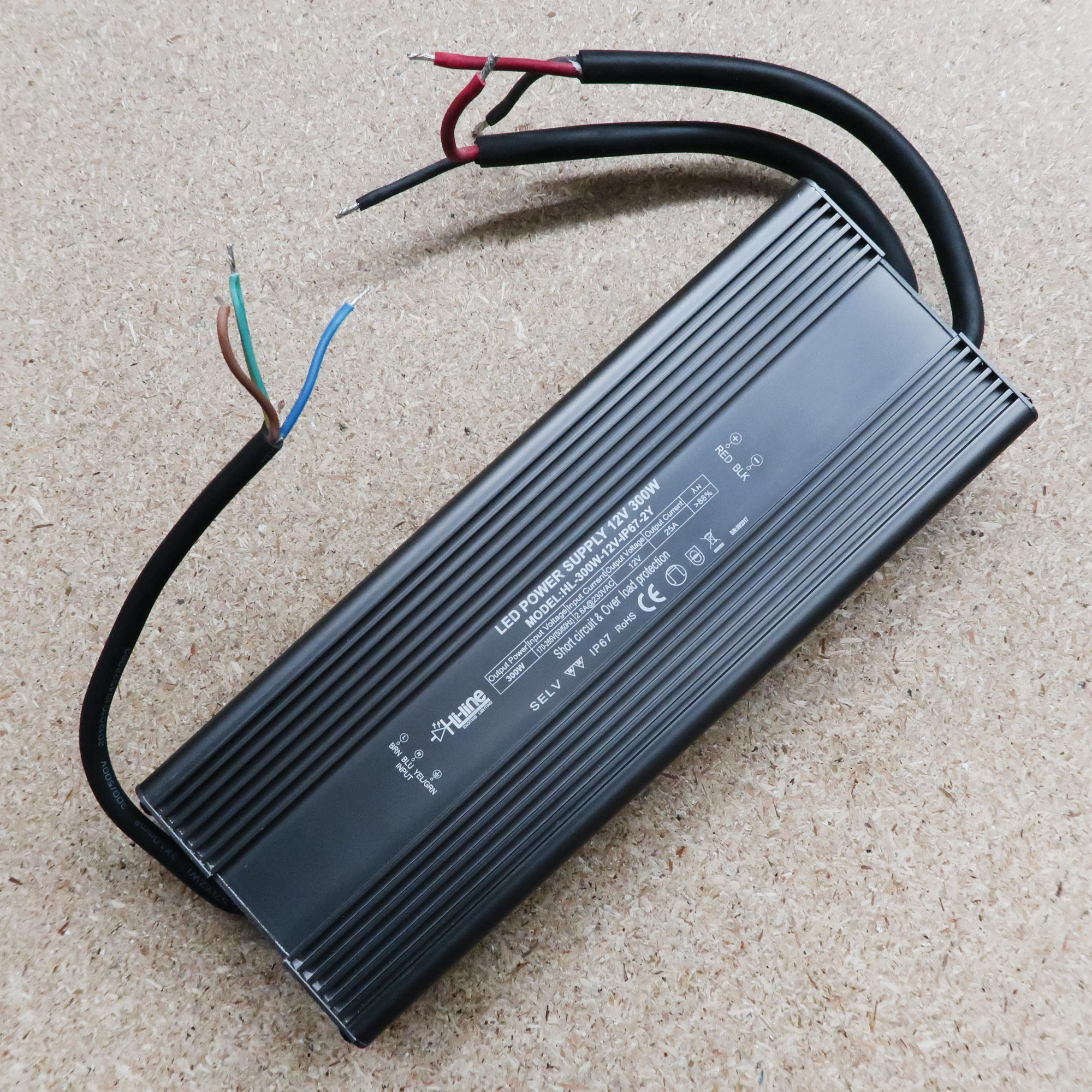 12v Led Driver 300w Ip67 12 Volt Circuit