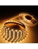 Warmweißer LED-Streifen 24V-14,4W/m- IP00-CRI80-SMD3528B