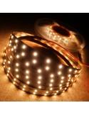 Warmweißer LED Streifen 3000K 24V 14.4W/m IP00 CRI80 SMD2835
