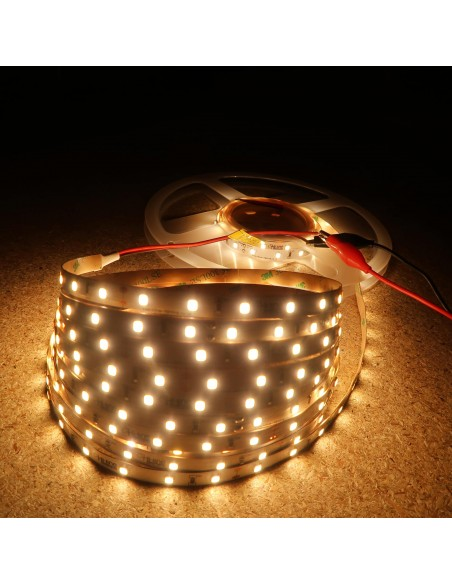 Warmweißer LED-Streifen 24V-4,8W/m- IP00-CRI80-SMD2835