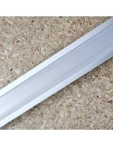 Recessed LED profile extrusion 25 x 15mm
