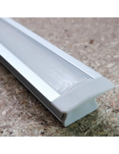 Recessed LED profile extrusion (L1000*W25*H15mm)
