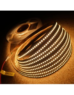 Warm White LED Strip 3000K 24V 19.2W/m IP00 CRI80 SMD3528