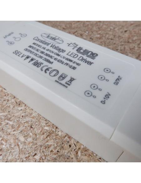0-10V Dimmable LED Driver 24V 60W IP40