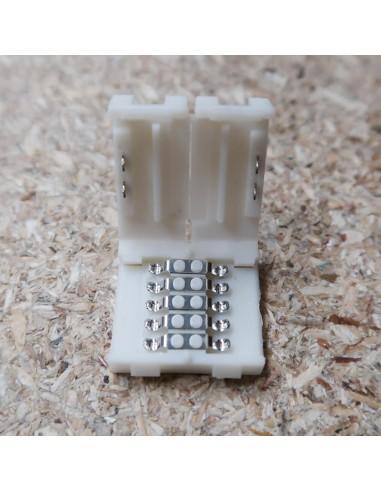 5polige-Lötfreie Verbindungsklemme für 10mm RGBW LED-Streifen (5er Packung)