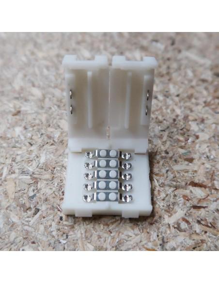 5polige-Lötfreie Verbindungsklemme für 12mm RGBW LED-Streifen (5er Packung)