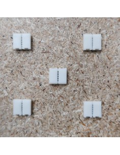 10mm RGBW strip to strip solderless connector 5 pin (pack of 5)