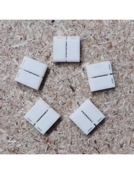 4polige-Lötfreie Verbindungsklemme für 10mm RGB LED-Streifen (5er Packung)