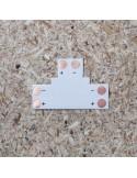 T Shape strip PCB (single colour, 2 pin) 10mm