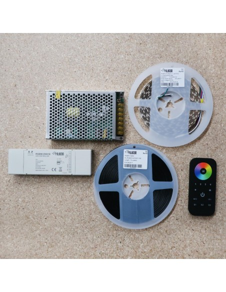 5 meters RGBW LED Strip Kit RGB+Warm (Basic)