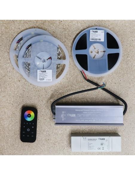 Premium 10 meters RGBW LED Strip Kit RGB+Cool (Basic)