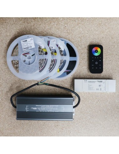 Premium 15 meters RGBW LED Strip Kit RGB+Warm (Basic)