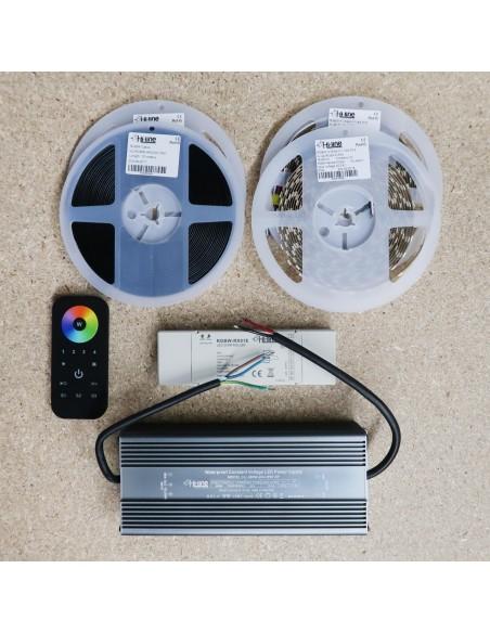 Premium 15 meters RGBW LED Strip Kit RGB+Natural white