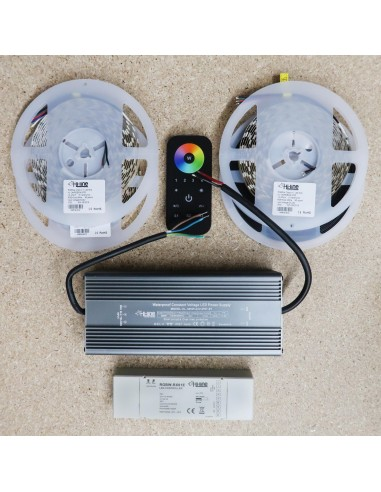 RGBW LED Strip Kit RGB+Cool white 15m