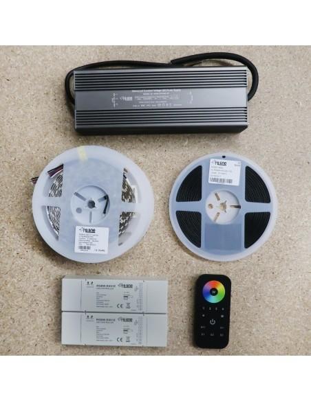 20 meters RGBW LED Strip Kit RGB+Cool/W (Basic Kit)