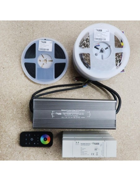 40 meters RGBW LED Strip Kit RGB+Warm (Basic)