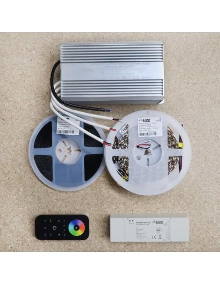 15 meters RGBW LED Strip Kit RGB+Warm (Basic)