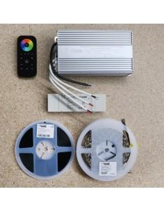 15 meters RGBW LED Strip Kit RGB+Cool (Basic)