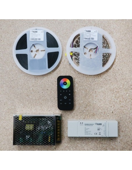 5 meters RGBW LED Strip Kit RGB+Natural (Basic)