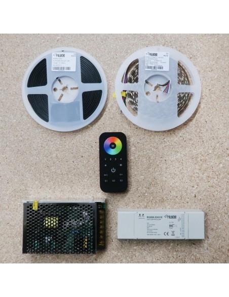 5 meters RGBW LED Strip Kit RGB+Natural (Basic)