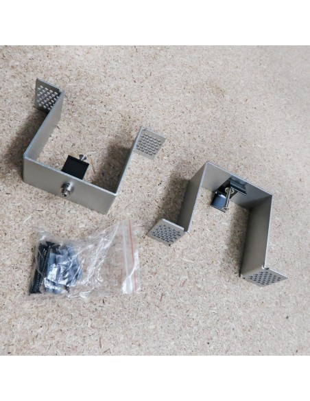 Linear LED Profile recessed mount kit for 7380 linear LED Profile