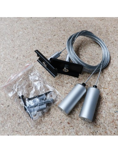 Pendant mounting kit for Hi-Line profile systems