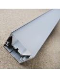 LED Profile 73mm for up to 30mm wide strips, 1.2m set