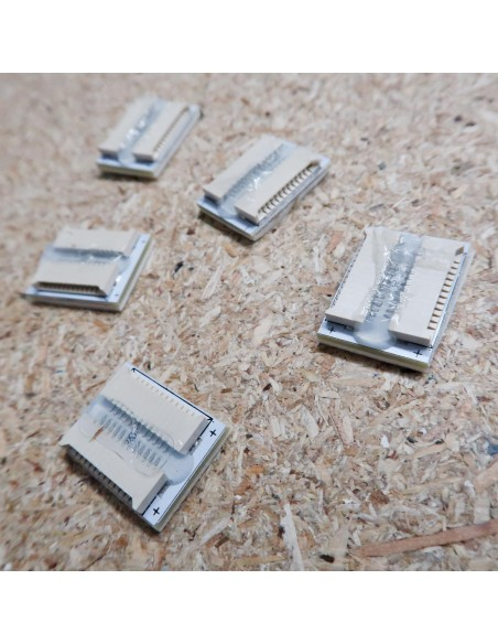 Solderless connector for HL-S2002 LED tape