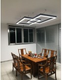 Linear LED Profile 42mm for 12mm strips, modular 2.5m set