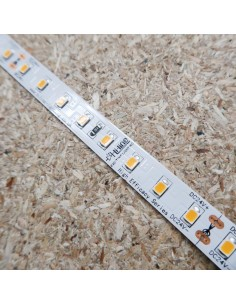 High Efficiency warm white 2700K LED Strip 24V 14.4W/m IP00 CRI80 160Lm/W