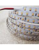 3000K Warmweißer LED-Streifen 24V 14.4W/m IP00 CRI90 SMD2835