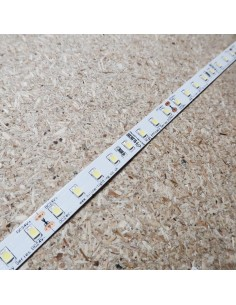 High Efficiency 6000K pure white LED Strip 24V 14.4W/m IP00 160Lm/W