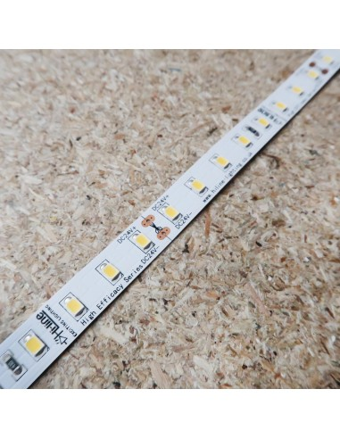 4000K Natural White LED Strip 24V 14.4W/m IP00 CRI90 SMD2835