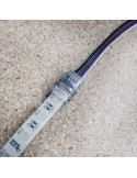 IP65 RGBW LED strip to wire connector