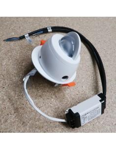 Recessed mini LED wall washer RGBW - DMX512 - 24V - 20W - IP20