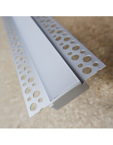 Gips-LED Aluminium Profil L2000 * W62mm * H10mm