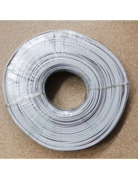 Flat 5 cores RGBW LED cable 500 meters ribbon roll