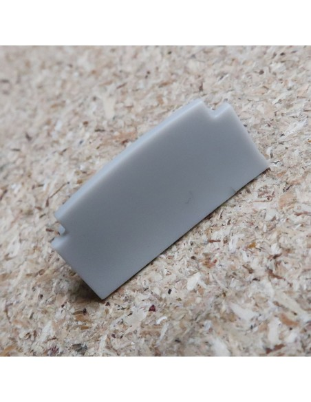 Geschlossen Endkappe für HL-ALU200-R2 (Plaster-In LED Profil Extrusion)