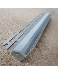 Recessed Tile Internal Corner LED Profile for LED Strip (2 meters)