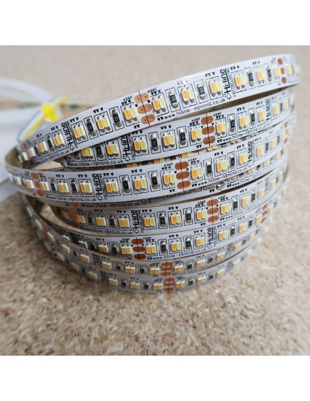 Tunable white LED strip 240 LEDs per meter 28.8W