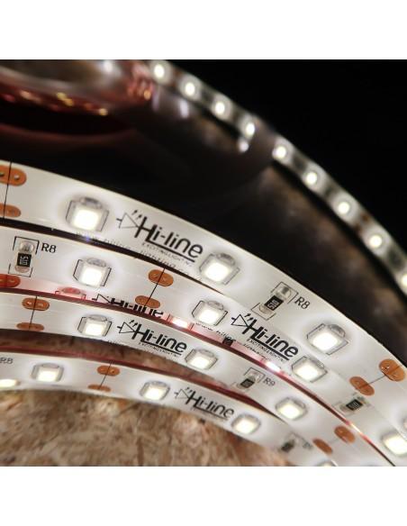 12V  Natürliches Weiß LED-Streifen 14.4W / m IP54/65-CRI80-SMD2835