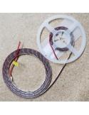 12V  Natürliches Weiß LED-Streifen 14.4W / m IP65-CRI80-SMD2835